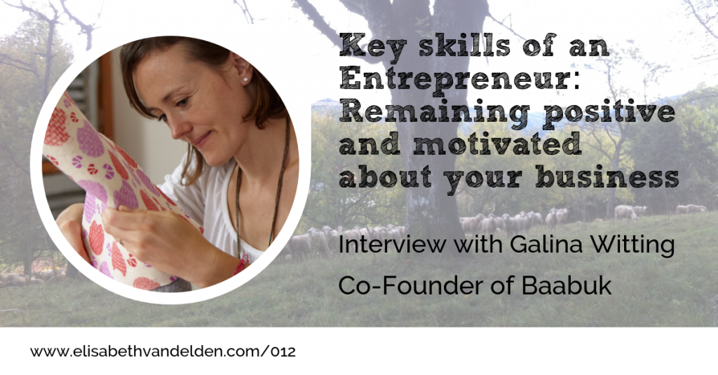 Galina Witting Co-founder of Baabuk