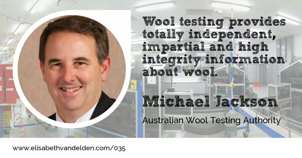 Michael Jackson AWTA guest at Wool Academy Podcast 035