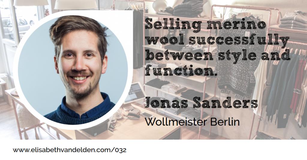 Wollmeister Berlin Jonas Sanders Wool Academy Guest