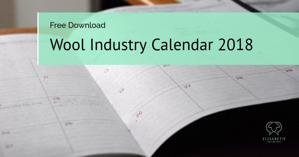 Wool Industry Calendar 2018