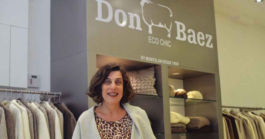 Claudia Weiss Montelan and Don Baez Eco Chic guest at Wool Academy Podcast