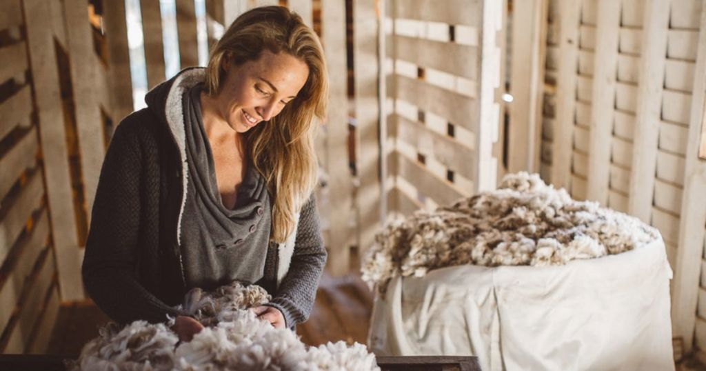 Chantel McAlister Truth about Wool Tour at Wool Academy Podcast